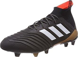 adidas Conquisto II FG, Chaussures de Football Homme, Noir (Cblack/Ftwwht/Solred Bb5828), 46 EU