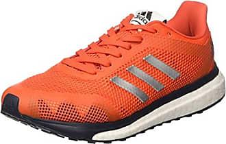 adidas Duramo 7, Chaussures de Gymnastique Femme - Multicolore - Gris/Naranja, 33 EU EU