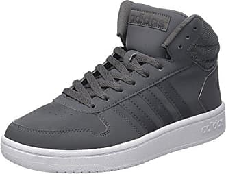 adidas CF Hoops Mid WTR W, Chaussures de Running Femme, Multicolore (Grey One F17/Grey Two F17/Core Black), 38 EU