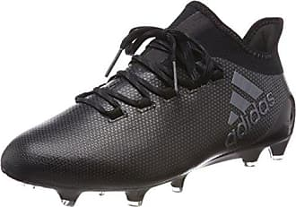 adidas Nemeziz 17.1 FG, Chaussures de Football Homme, Multicolore-Blanc/Noir (Ftwbla/Amasol/Negbas), 44 2/3 EU
