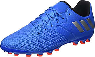 adidas Herren Messi 16.3 FG Fußballschuhe, Blau (Blue/FTWR White/Solar Orange), 44 2/3 EU