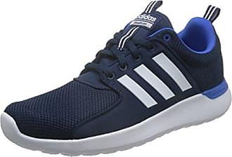 Adidas lite Racer, Zapatillas para Hombre, Negro (Negbas/ftwbla/Escarl), 46 2/3 EU (11.5 UK)