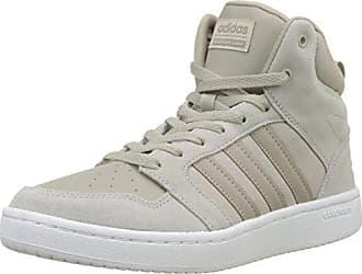 adidas CF Super Hoops Mid, Chaussures de Gymnastique Homme, Marron (Light Brown/Light Brown/Simple Brown), 44 2/3 EU