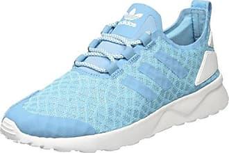 Damen ZX Flux ADV Verve Sneaker, Blau (Blanch Sky/Blanch Sky/Core White), 40 EU adidas