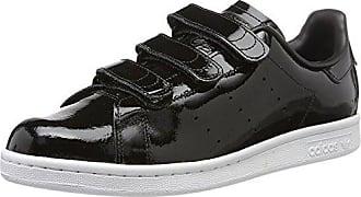 adidas S75190, Sneakers Basses Mixte Adulte - Noir - Noir, 46 EU