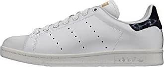 adidas Stan Smith W, Chaussures de Gymnastique Femme, Blanc (FTWR blanc/FTWR blanc/Gold Met. FTWR blanc/FTWR blanc/Gold Met.), 36 2/3 EU