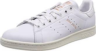 Adidas Stan Smith, Entrenadores para Mujer, Blanco (Wht/Ftwwht/Cgreen), 36 2/3 EU adidas