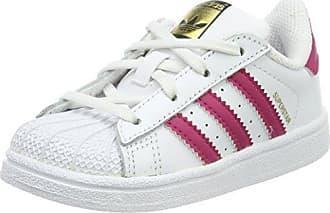 Adidas Fortarun CF I, Zapatillas de Estar por Casa Bebé Unisex, Rosa (Rosa/(Rosimp/Ftwbla/Rosfue) 000), 21 EU
