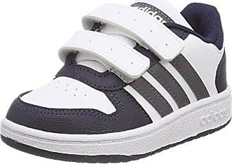 Adidas Hoops 2.0 CMF I, Zapatillas de Estar por Casa Bebé Unisex, Negro (Negbas/Ftwbla/Azubri 000), 20 EU