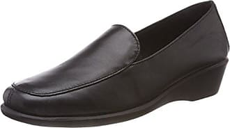 Fast Lane Mix Bamboo Mocasines Mujer, Schwarz (Black), 37 EU (4 UK) Aerosoles