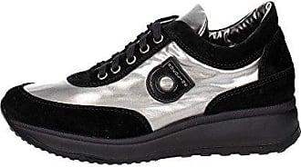 1304(7) Niedrige Sneakers Damen Schwarz 36 Agile by rucoline O1aBeH