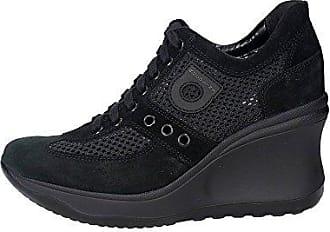 226(11) Niedrige Sneakers Damen Schwarz 38 Agile by rucoline Wynjg