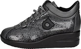226(A18) Niedrige Sneakers Damen Schwarz 36 Agile by rucoline LLesuyKV5