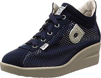 226(20) Niedrige Sneakers Damen Schwarz/Braun Taupe 38 Agile by rucoline VidgwgoQ