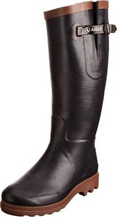 Victorine - Botte Classique - Fourrée - Femme - Noir (Noir) - 40 EU (6.5 UK)Aigle 3GpHma
