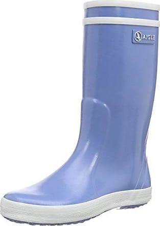 Aigle Woody Pop Iso - Zapatos Niñas, Azul (Marine), 26 EU
