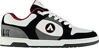 Airwalk Herren Throttle Sn CL82 Skate Sportschuhe Schwarz/Wht/Rot 43.5 4fwmS