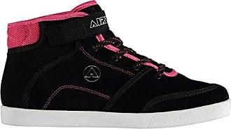 Malibu Mid Top Skate Schuhe Damen schwarz/pink Sportschuhe Sneakers Schuhe, schwarz / rosa Airwalk