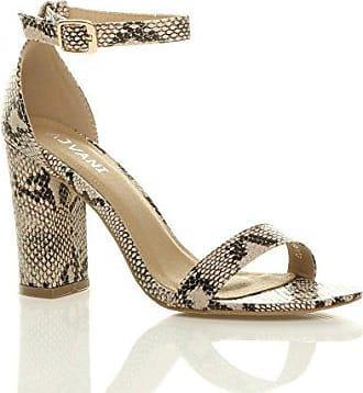 Günstig Kaufen Footlocker Bilder Damen Hochblockabsatz Riemchen Peep Toe  Schuhe Knöchelriemen-Sandalen Größe 6 39 d5d8e40de2