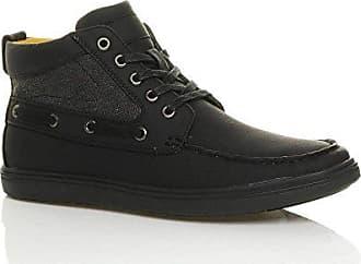 Ajvani Herren Schnüren Spitze Freizeit Formal Balmoral Tweed Oxford Schuhe Größe 9 43 DLI39VkOqd