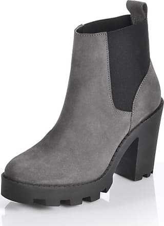 Zanpa Damen Winterrschuhe Moda Plateau Stiefel Gefuttert fur 35 Size Grey cbNdoSM