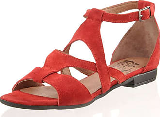 Sandale Alba Moda Rouge À Motifs NICOmAI