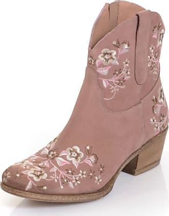 Alba Moda Stiefelette in Cowboy-Stil, rosa, Normal, rosé