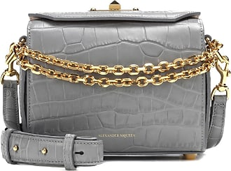 Alexander McQueen Shoulder Bag for Women On Sale, Bone, Leather, 2017, one size