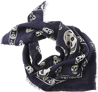 Scarf for Women On Sale in Outlet, antracite, viscosa, 2017, 26 Alexander McQueen