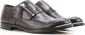 Monk Strap Shoes for Men On Sale, Black, Leather, 2017, EUR 40 - US 7 - UK 6 EUR 43 - US 10 - UK 9 EUR 45 - US 12 - UK 11 Alexander McQueen