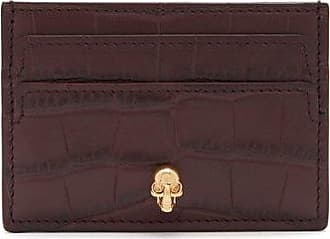 Card Holder for Women, Powder Rose, Leather, 2017, One size Alexander McQueen
