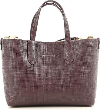 Alexander McQueen Top Handle Handbag On Sale, Brown, Leather, 2017, one size