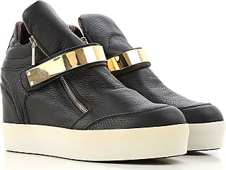 Sneakers for Women On Sale in Outlet, Black, Leather, 2017, 8.5 Alexander Smith