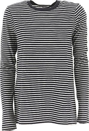 Sweater for Women Jumper On Sale, Blue, Cotton, 2017, 6 8 Alexander Wang