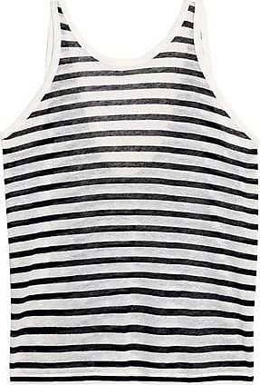 Buy Cheap View Outlet Store Online T By Alexander Wang Woman Striped Slub Jersey Tank Ecru Size M Alexander Wang Free Shipping Pictures w8pv7ofHc