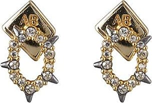 Alexis Bittar Crystal Encrusted Spiked Stud Earring OGNxWZK4e0