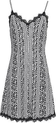 Alice+olivia Woman Delaney Cloqué Mini Dress Black Size 10 Alice & Olivia Free Shipping Wiki Purchase For Sale Clearance Pre Order Free Shipping Fast Delivery ORrSDV6W