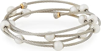 Alór 18k Gold Mixed Diamond Cable Bangle xtTdz