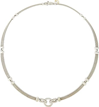 Alór 18k Tricolor Circle Diamond Pendant Necklace CLnbjbFZ