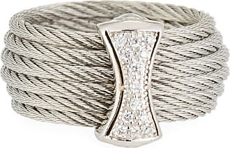 Alór Classique Micro-Cable Diamond Station Necklace PgYUtTkRAj