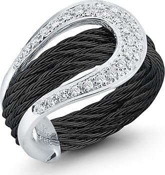 Alór Classique Wavy Diamond Necklace R6lpn