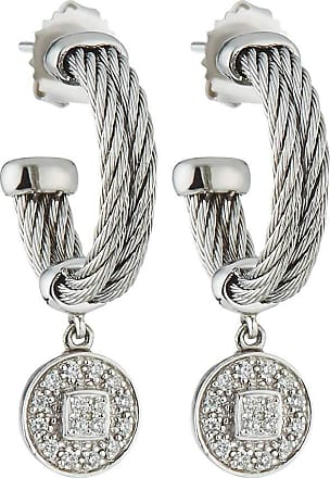 Alór Cable Hoop Earrings w/ Diamonds y7PBSZlOC