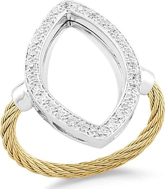 Alór Layered Triple-Band Diamond Ring, Size 6.5