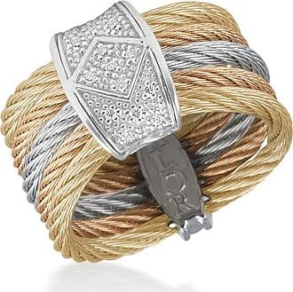 Alór Classique Multi-Strand Cable Bracelet w/ Diamond Pavé 4stXn
