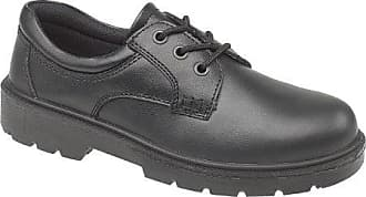Amblers Aldershot Gibson Damen Leder Schuhe (38 EUR) (Schwarz) sX2i86PamU