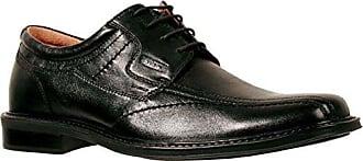 bonne vente la fourniture Ambre Mens Chaussure De Dentelle Pongo Noir 42 toutes tailles parfait e14znqSw