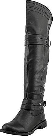 Frauen Faylln Geschlossener Zeh Combat Stiefel Schwarz Groesse 8 US /39 EU American Rag Cie xzZmCUb1H