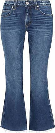 Cheap Low Shipping With Paypal Online Amo Woman Distressed Mid-rise Kick-flare Jeans Mid Denim Size 31 Amo 8tAYGQ6EI