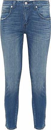 Cheap Sale New Arrival Amo Woman Jane Distressed Mid-rise Kick-flare Jeans White Size 28 Amo Outlet Shopping Online Clearance Footlocker Finishline Cheap Sale Fashion Style Buy Cheap Nicekicks NRaVVFYe