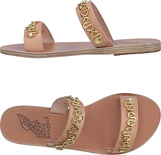 Sandalen für Damen Günstig im Sale, Platinfarben, Leder, 2017, 36 37 38 39 40 Ancient Greek Sandals